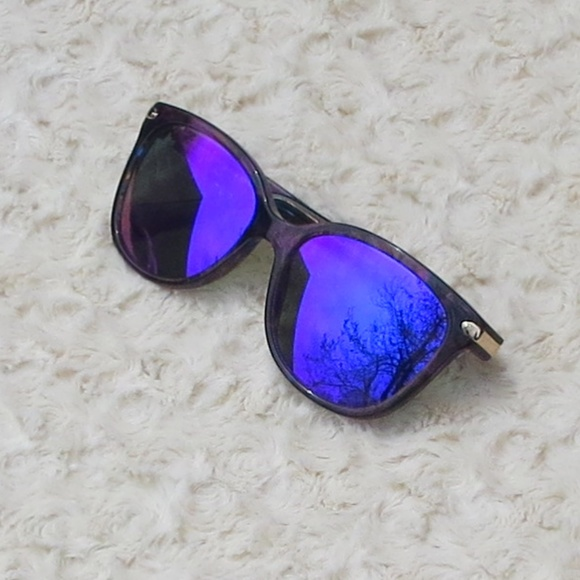 c83b059a95 Coach Accessories -  Coach Confetti Purple Sunglass Frames